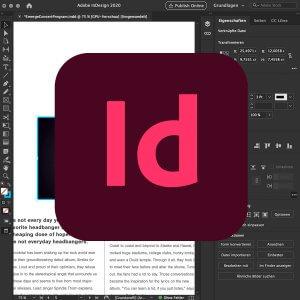 InDesign online Seminar