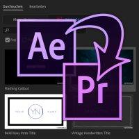 Motion Graphics und Essential Graphics online Seminar