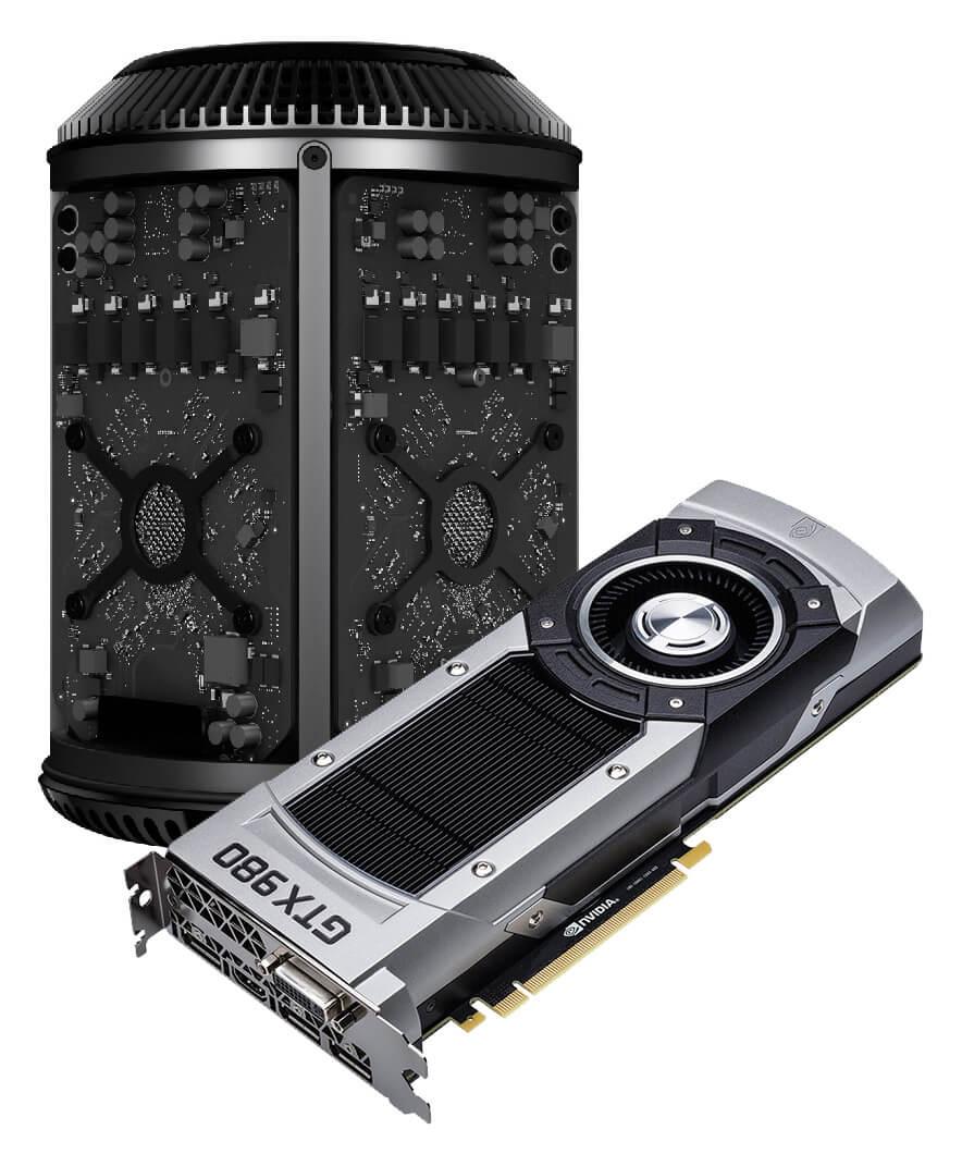 Mac Pro und NVIDIA GeForce GTX 980