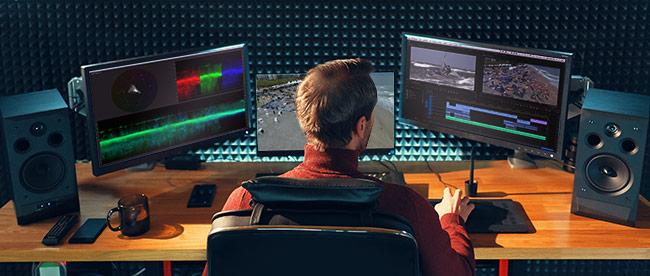 Einsatz von Adobe Audition im Tonstudio