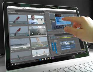 Premiere Pro und Microsoft Surface Book