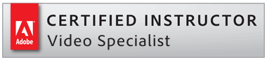 Adobe Certified Video Specialist
